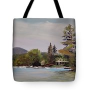 To Mt. Shaw Tote Bag
