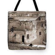 To Praying In Fez - Morocco Tote Bag