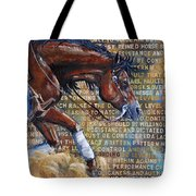 To Rein A Horse Tote Bag