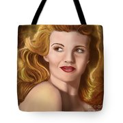 To Rita Hayworth Tote Bag