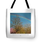 To See The Light Tote Bag