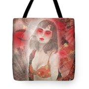 To Tell You A Geisha's Story. Tote Bag