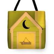 To The Beach - Decorative Outhouse And Sign Tote Bag