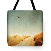 To The Beach Tote Bag by Wim Lanclus