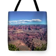 To The Edge Of Vastness Tote Bag