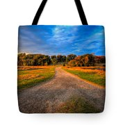 To The End Of The World Tote Bag