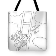 To The Heaven. Tote Bag