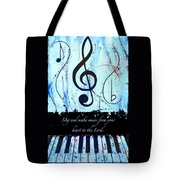 To The Lord - Blue Tote Bag