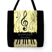 To The Lord - Yellow Tote Bag