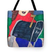 To The Mailbox Tote Bag