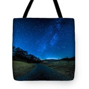 To The Milky Way Tote Bag
