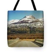To The Mountain Tote Bag