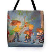 To The Park Tote Bag