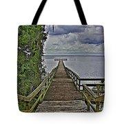 A Walk To The Sea Tote Bag