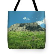 To View A Mountain Tote Bag