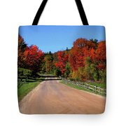 To Where Does The Road Lead Tote Bag