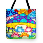 Toads And Toad Stools Tote Bag