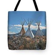 Tee Pees, Taos New Mexico Tote Bag