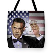 Toast - Respect  Tote Bag by Reggie Duffie