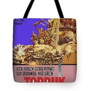 Tobruk Theatrical Poster 1967 Color Added 2016 Tote Bag