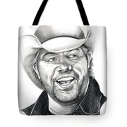 Toby Keith Tote Bag