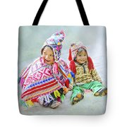 Toddler Dolls Tote Bag