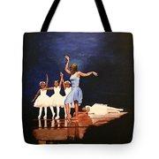 Toe Dancer Tote Bag