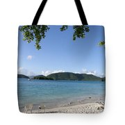 Toes In The Waves Tote Bag