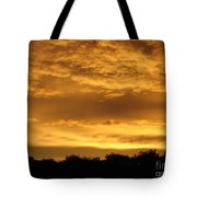 Toffee Sunset 3 Tote Bag