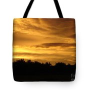 Toffee Sunset Tote Bag
