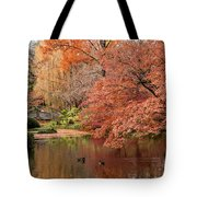 Together In Fall Tote Bag