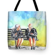 Together Old In Italy 02 Tote Bag