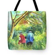 Together Old  In Italy 07 Tote Bag by Miki De Goodaboom