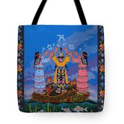 Together We Over Come Obstacles Tote Bag