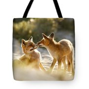 Togetherness - Mother And Kit Moment Tote Bag