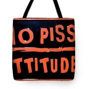 Toilet Humor Tote Bag
