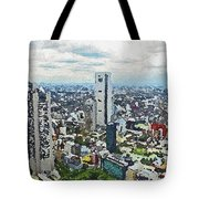 Tokyo City View Tote Bag