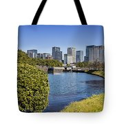 Tokyo From The Palace Tote Bag