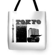 Tokyo Inked Tote Bag
