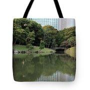 Tokyo Japanese Garden Tote Bag