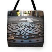 Tokyo Sewer Cover Tote Bag
