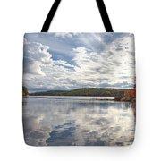 Tolland Lake Two Tote Bag