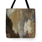 Toltec Gorge And Eva Cliff From The West, Colorado, 1892 Tote Bag