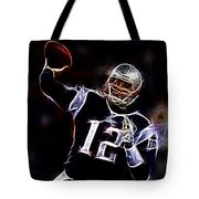 Tom Brady - New England Patriots Tote Bag