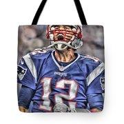 Tom Brady Art 5 Tote Bag