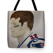 Tom Brady Determined Tote Bag