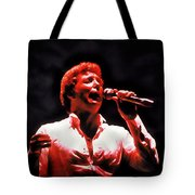 Tom Jones In Concert Tote Bag