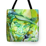 Tom Waits - Watercolor Portrait.5 Tote Bag