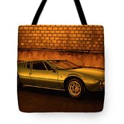 Tomaso Mangusta Mixed Media Tote Bag
