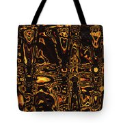 Tomatillo Abstract #2 Tote Bag